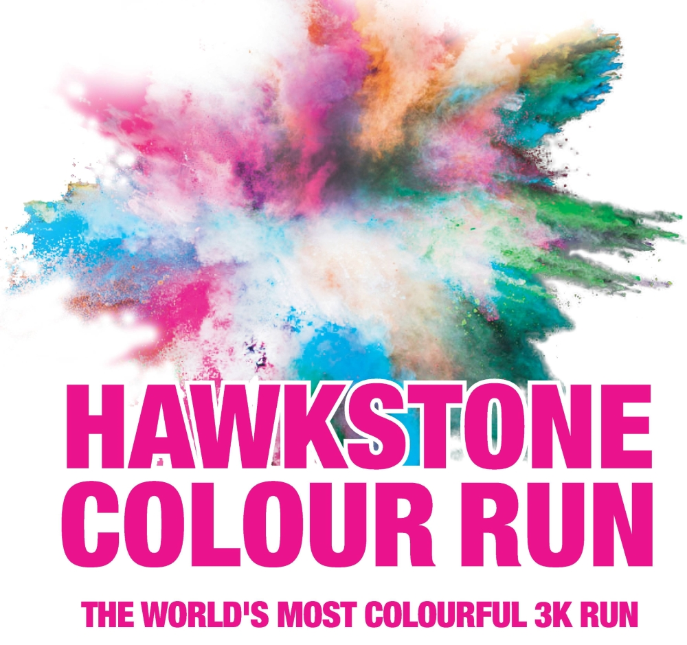 Hawkstone Colour Run in partnership with Hope House