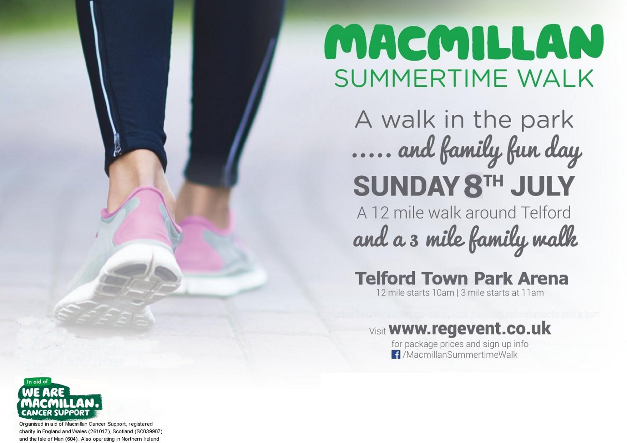 Macmillan Summertime Walk