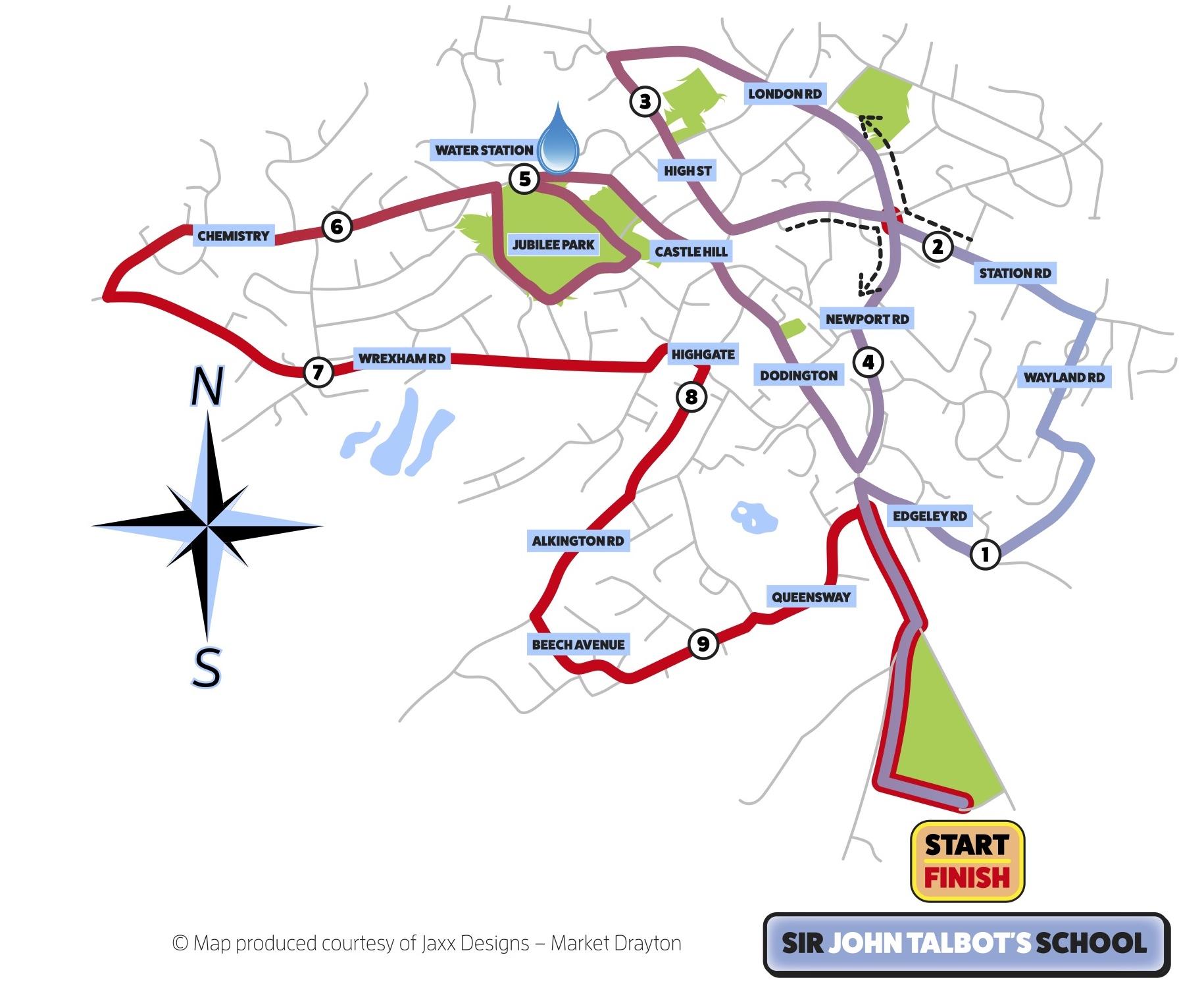 SJT Whitchurch (Shropshire) 10K